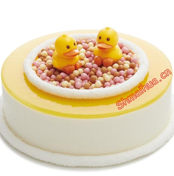 小鸭子慕斯蛋糕